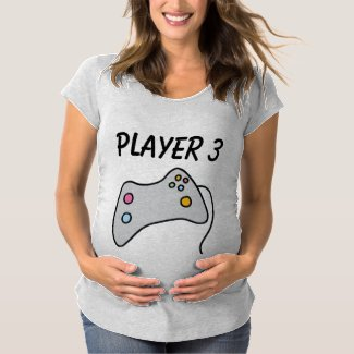 New Player Maternity T-Shirt