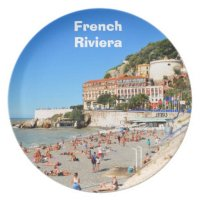 Nice. French Riviera Dinner Plate | Zazzle
