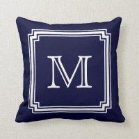 Monogram Pillows - Monogram Throw Pillows | Zazzle