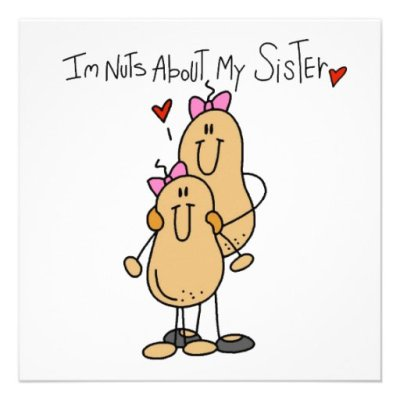 Big And Little Sister Cartoon