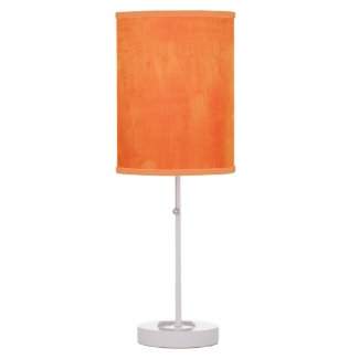 Orange Watercolor Texture Hanging Pendant Lamp