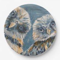 Owl Plates | Zazzle