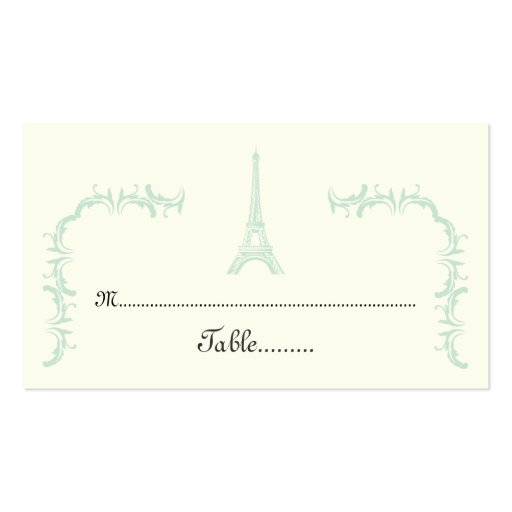 wedding place card templates printable - wedding place cards template free