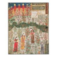 Persian Wood Wall Art | Zazzle