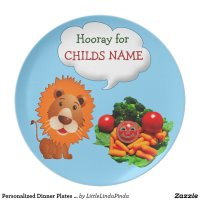 personalized_dinner_plates_for_kids_to_eat_veggies ...