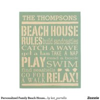 personalized_family_beach_house_rules_wood_wall_art ...