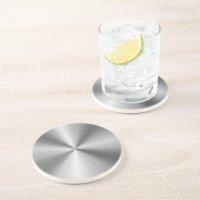 Stainless Steel Drink & Beverage Coasters | Zazzle