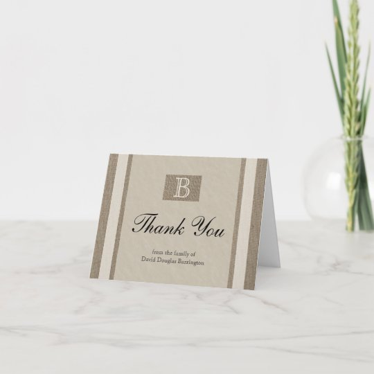 Personalized Sympathy Thank You Note Cards Zazzle