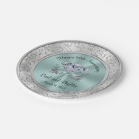 Wedding Paper Plates | Zazzle