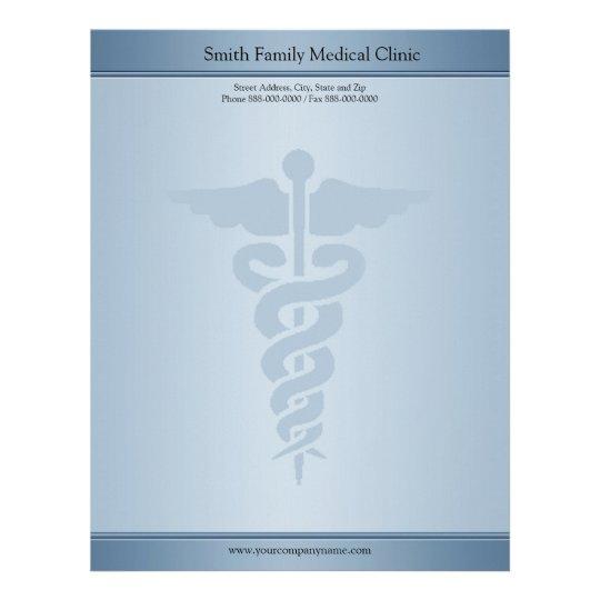Medical Letterhead Templates Vistaprint Physician Medical Doctor Letterhead Zazzle