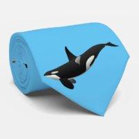Orca Whale Ties | Zazzle