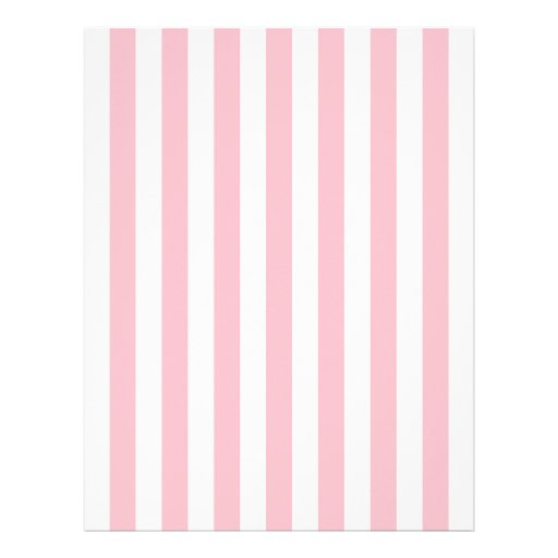 Pink And White Striped Paper