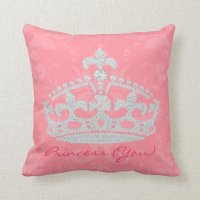 Princess Pillows, Princess Throw Pillows