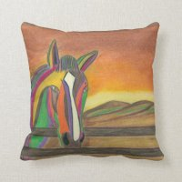 "Polyester Throw Pillow 16"" x 16"""