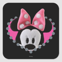Minnie Mouse Party Cupcake Topper Stickers & Labels