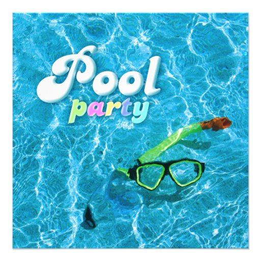 Pool Party Invite Template – Summer Party Invitation Templates Free