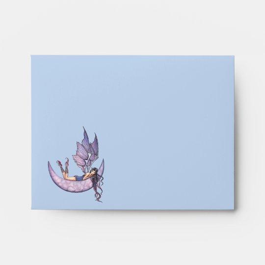 Pretty Fairy A2 Envelopes, Invitation Size Envelope Zazzle