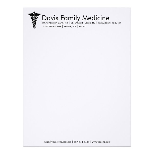 personalized letterhead stationery