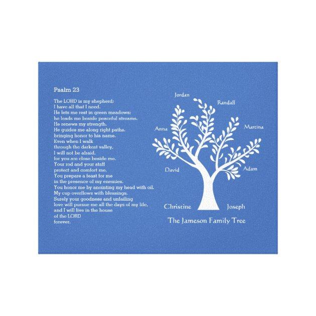 family tree address labels