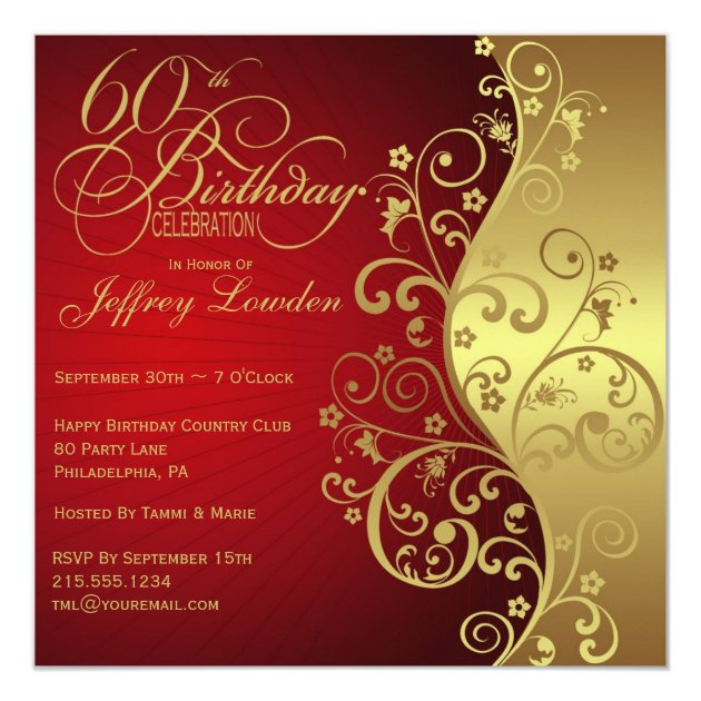 50th party invitation templates