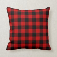Red Buffalo Plaid Pillows