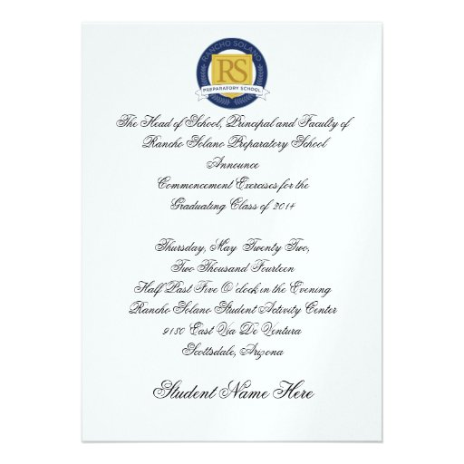 formal graduation announcements - Militarybralicious