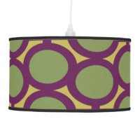 Sage Green Table & Pendant Lamps | Zazzle