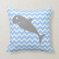 Shark. Throw Pillow | Zazzle