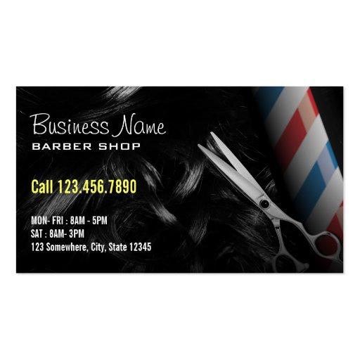 Barber business cards cvfreeo barber shop business card templates bizcardstudio accmission Choice Image
