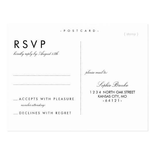 wedding response postcards - Eczasolinf - wedding response postcards