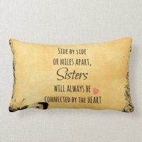 Sister Quote Throw Pillows | Zazzle