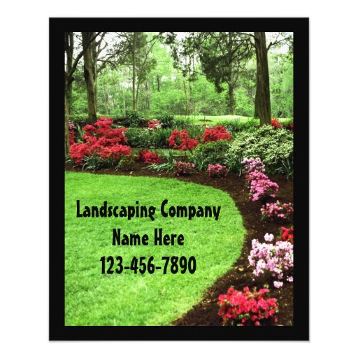 Sandra Story Advertising ideas for landscaping business