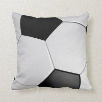Soccer / Football Sports Themed Throw Pillow   Zazzle