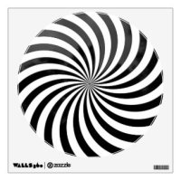 Optical Illusion Wall Decals & Wall Stickers | Zazzle