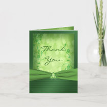 St. Patrick's Day Celtic Love Knot Thank You Card