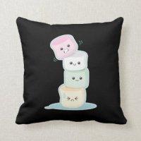 Cute Marshmallow Pillows - Decorative & Throw Pillows | Zazzle
