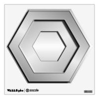 Stainless Steel Wall Decals & Wall Stickers | Zazzle