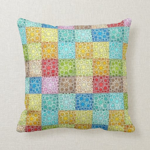 """Stars 16"""" x 16"""" pillow"""