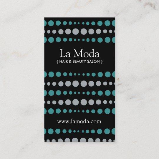 Stylish Salon Appointment Cards  Business Cards Zazzle