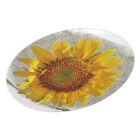 Sunflower Dinner Plate | Zazzle