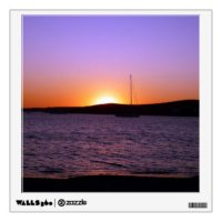 Sunset Wall Decals & Wall Stickers   Zazzle