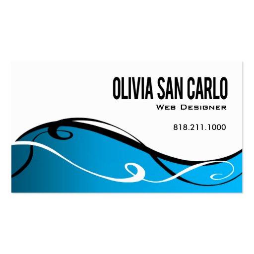 Web designer Business Cards - Page3 BizCardStudio