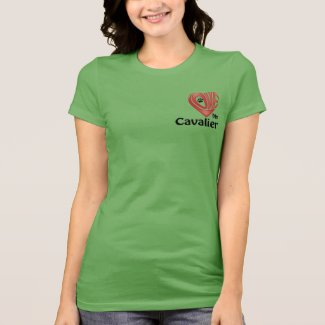 T-Shirt Women's- Love My Cavalier