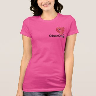 T-Shirt Women's- Love My Chinese Crested