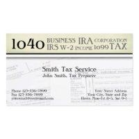 Tax Preparer Business Cards & Templates | Zazzle
