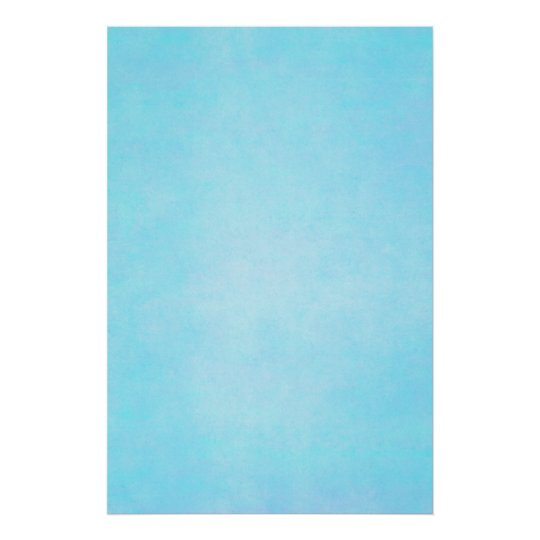 Teal Blue Light Watercolor Template Blank Poster Zazzle
