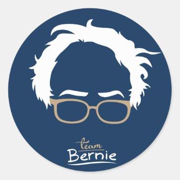 Team Bernie - Bernie Sanders for President 2016 Classic Round Sticker