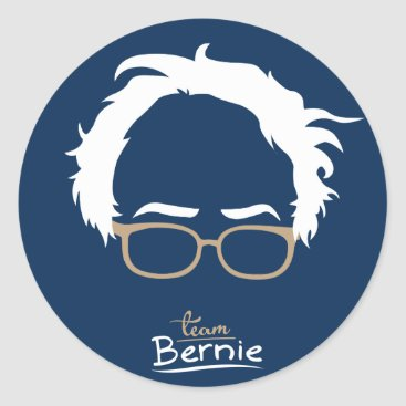 Team Bernie - Bernie Sanders for President 2016 Classic Round Sticker