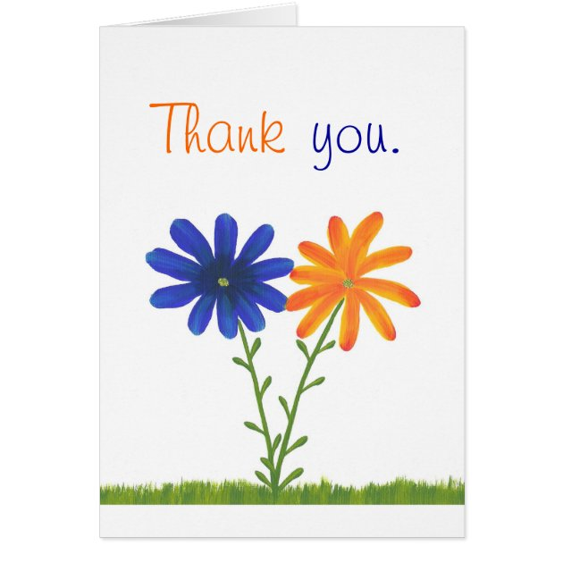 thank you for your business postcards