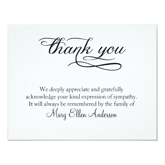 thank you card note - Eczasolinf